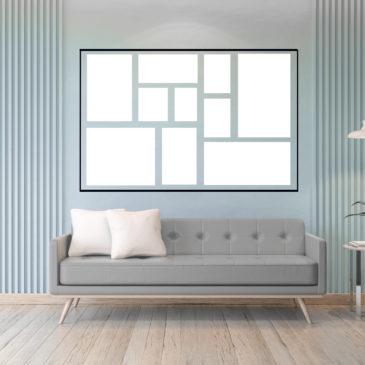 Wanddekoration – Bilder richtig aufhängen